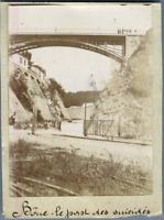 Algérie, Bône (Annaba عنابة), Le Pont des Suicidés  Vintage citrate print. Photo