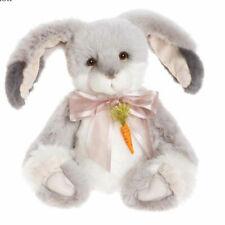 "Charlie Bears 2020 Cabbage Rose Rabbit 14"" Jointed Plush CB202045B -"