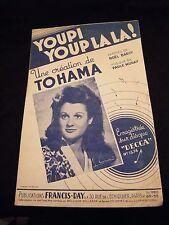 Partition Youpi youp la la ! Tohama Music Sheet