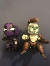Funko Mystery Mini Scorpion and Prowler Into the Spiderverse 1/72