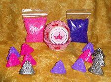 Princess Cupcake Kit,Crown Rings,Sprinkles,Bake Cups,Wilton, Party Set, Girl