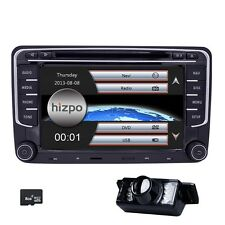 "7"" GPS Sat Nav Car Radio DVD CD Player Bluetooth Stereo For SEAT Leon Mk2 1P FR"