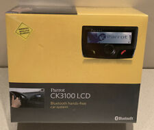 Parrot Ck3100 Lcd Bluetooth Handsfree Car Kit with Lcd Display. New ~ Sealed.