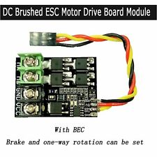 30A 50A 3S 4S DC Brushed ESC Motor Drive Board Module for RC Car Aircraft Model