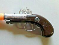 Vintage Zee Toys Miniature Flintlock Plastic Toy Gun