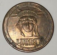 Old Vintage Collectible Coin Token Sears Celebrating the New Century 1886 - 1986