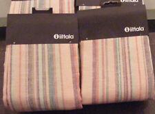 2 New iittala Origo Cushion Covers/Twins Pink Linen/50 x 50 cm/19.7 x 19.7 in
