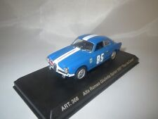 "DetailCars  Alfa Romeo Giulietta Sprint  (Tour de Corse) ""1957"" (blau) 1:43  OVP"