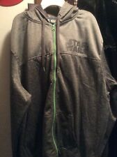 Star Wars Hoodie / Jacket Men's Size 2XL Gray With Neon Green Long Sleeves