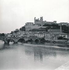 BEZIERS c. 1960 - L'Orb Vieux Pont  Maisons Cathédrale Hérault - Div 11907