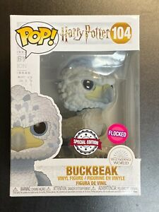 FUNKO POP HARRY POTTER BUCKBEAK FLOCKED SPECIAL EDITION EXCLUSIVE / HOT TOPIC