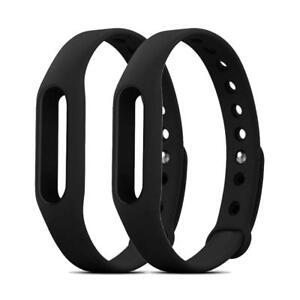 2 Pack Go-tcha Replacement Wristband Case for Pokemon Go Datel Medium Size Black