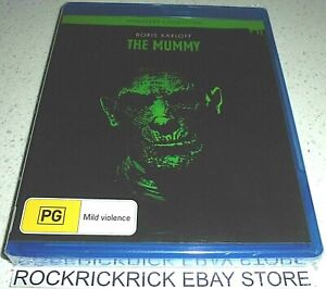 THE MUMMY BLU-RAY (MONSTERS COLLECTION SERIES) MADE IN AUSTRALIA (BRAND NEW)