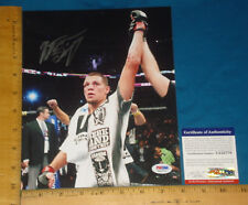 PSA DNA Certified Authentic MMA UFC Nate Diaz signed/autograp​h 8x10 Color Photo