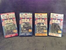 Victory at Sea (1952) - VHS Video Tape - Documentary / War-Franklin D. Roosevelt
