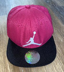 Air Jordan Jumpman Pink Elephant Print Adjustable/Snapback Flat Bull Hat Youth