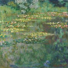 Le Bassin des Nympheas, 1904 by Claude Monet Art Print Landscape Poster 18x18