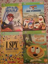 LeapFrog Tag Reading System Lot Of 4 Books Hardcover And Paperback Used