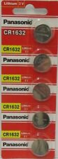 10 Pack - Panasonic Battery - Cr1632 3v 3 Volt Lithium Coin Size Battery