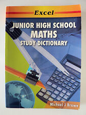 Junior High School Maths Study Dictionary by Michael J. Brown (Paperback, 2007)