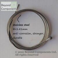 Genuine Stainless Steel Road Bike Brake Cable Inner 1.7m Shimano/SRAM