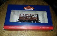 OO Bachmann 37-2012K 7 Plank Gloucester Railway Carriage & Wagon Ltd boxed