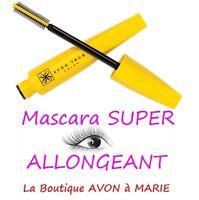 MASCARA EXTREME Super Allongeant SUPEREXTEND Waterproof NOIR AVON neuf