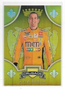 Kyle Busch 2020 Chronicles Crusade YELLOW PRIZM 09/10