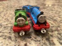 Diecast Gordon w/ Tender & Percy - Thomas & Friends Take N Play Take Along Train