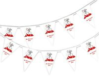 Happy St George Day - St George and Dragon - National- Bunting Banner 15 flags