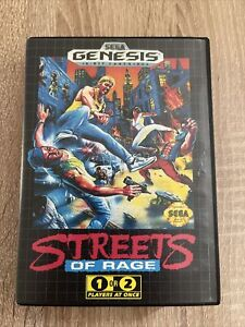 Streets Of Rage (Genesis) Sega Mega Drive