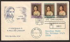 VATICANO BUSTA FDC CAPITOLIUM  RACCOMANDATA  1962 PAULINE MARIE JARICOT