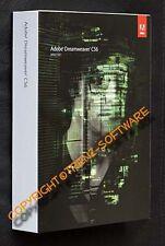 Adobe Dreamweaver CS6 Macintosh englisch - Box mit DVD - MwSt CS 6