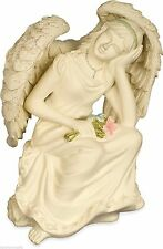 AngelStar Inspirational Platinum Series Angel Figurine – Contemplation 8320