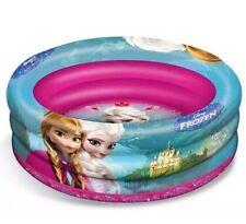 Disney Frozen Inflable 3 Anillos 100cm remando piscina * Nuevo *
