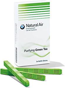 BMW Genuine Interior Freshener Fragrance Refill Kit Set Green Tea 83122285674