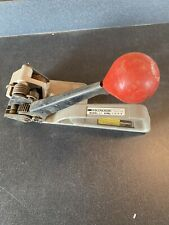 Steelbinder Ratcheting Strapping Banding Shipping Tool A J GERRARD Made in USA