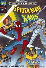 ## SEGA Mega Drive - Spider-Man X-Men (nur das Modul, ohne OVP / unboxed) ##