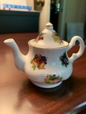 Miniture Tea Pot Bone China Made In England