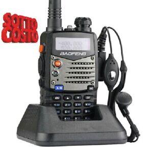 Baofeng UV-5R  A Dual Band VHF/UHFTalkie Walkie Ricetrasmittente RADIO 20KM