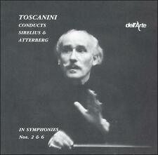 TOSCANINI CONDUCTS SIBELIUS & ATTERBERG NEW CD