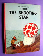TINTIN HERGE THE SHOOTING STAR METHUEN EO FIRST EDITION 1961 BON ETAT