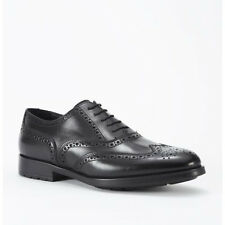 Men's Kenneth Cole Breath Of Air Black Lace Up Wing Tip Oxford Shoe