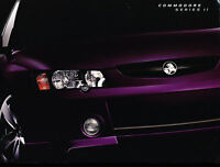 2004 Holden Commodore Australia Sales Brochure Book SS