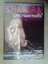 9631 // SHAKIRA LIVE FROM PARIS  DVD NEUF SOUS BLISTER