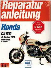 Buch Reparaturanleitung Honda CX 500 650 E / C GL 500 / 650 ab Bj 1978 Bd 5101