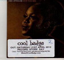 (DI411) Zara McFarlane, More Than Mine - 2012 DJ CD