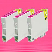 3P NON-OEM MAGENTA INK alternative for EPSON T044320 T0443 Stylus CX6400 CX6600