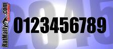 Los números de carrera-Paquete de 30 120mm regulación Acu (lado) Pista De Carreras gráficos