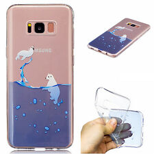 Ultra Thin Transparent Case Soft TPU Gel Phone Cover For Samsung Galaxy Phones